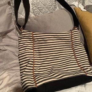 Thirty-one striped crossbody bag